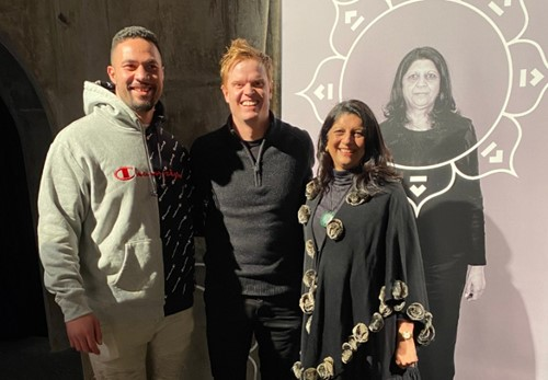 From left: Joseph Parker, Nick Mowbray and Ranjna Patel